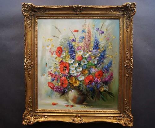Obrazy Niezwykle Dekoracyjny Obraz Polne Kwiaty Top